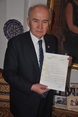 Dr. Küçük'ün ölüm yıldönümü anısına KOŞU PLAKETLERİ TÖRENİ 2015