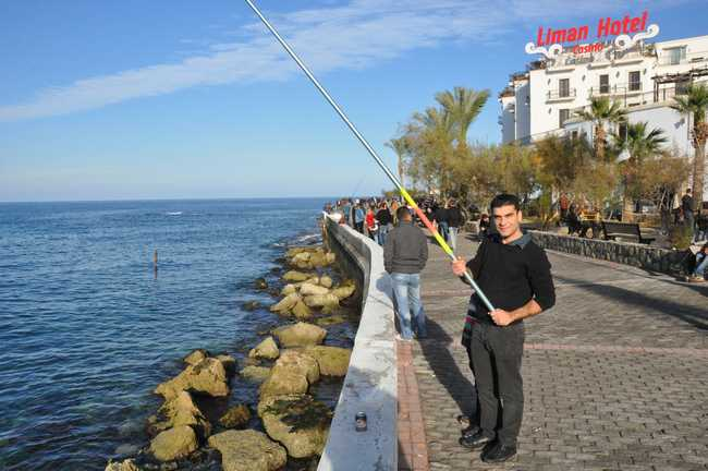 Kıbrıs'ta Mevsim kış, hava bahar