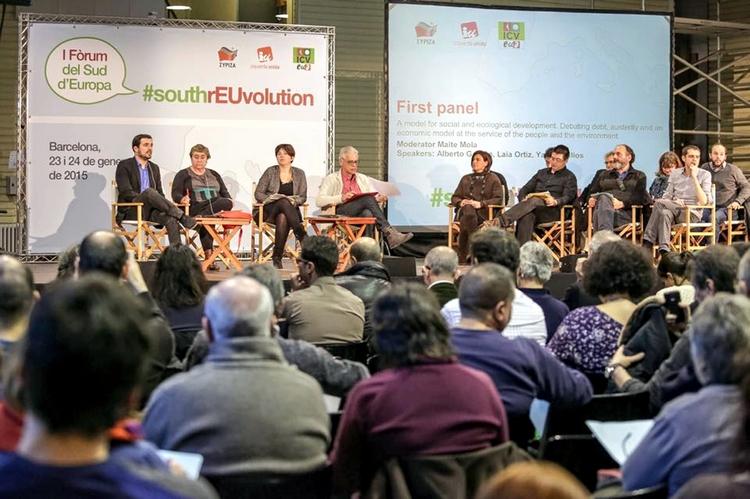 YKP, Barcelona'da Avrupa Güneyi Forumuna katıldı