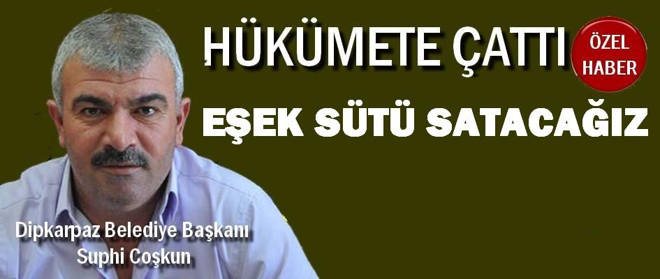 Dipkarpaz Belediye Başkanı Suphi Coşkun: Siyasiler bırakmıyorlar çalışalım