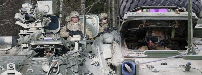 ABD Ordusu Avrupa turuna çıktı!