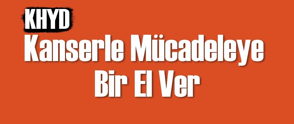 Mehmet Özburak anısına, 'Kanserle Mücadeleye Bir El Ver' sloganıyla dayanışma gecesi düzenliyor.