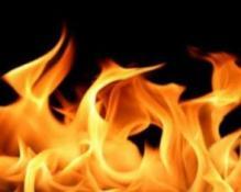 Lefkoşa'da  evde çıkan yangında maddi hasar meydana geldi.