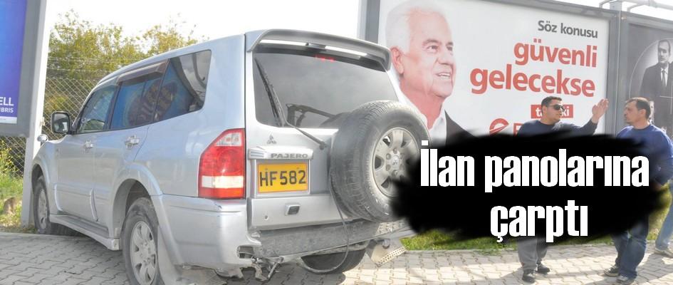Yenikent bölgesinde şaşırtan kaza