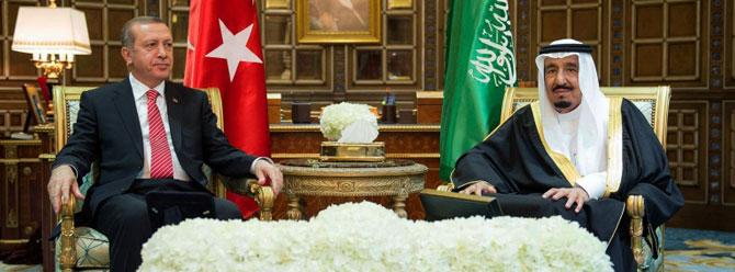Erdoğan ve Kral Selman Yemen operasyonunu konuştu