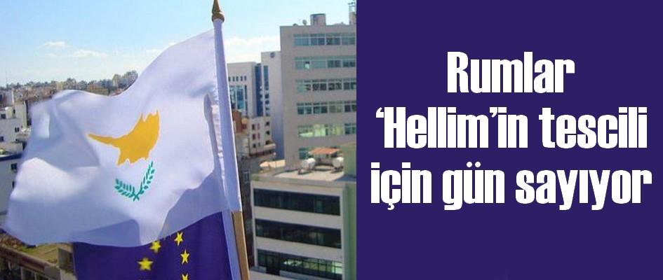 Rumlar 'Hellim'in tescili için gün sayıyor