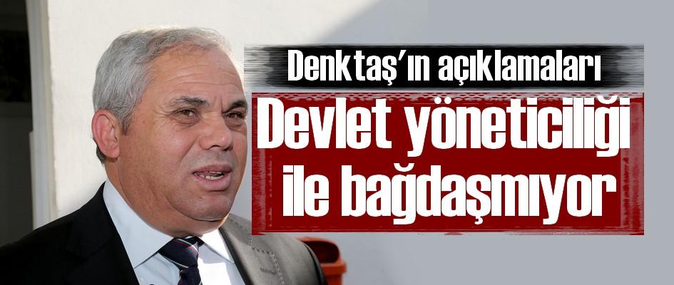 Başbakan: Denktaş'ın kararı devlet yöneticiliği ile bağdaşmamaktadır
