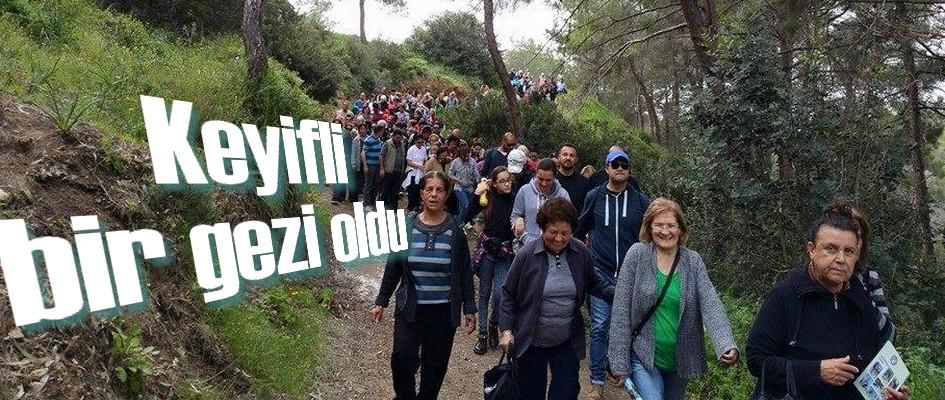 Kalkanlı'daki Anıt Zeytin Ağaçları Gezisi  gerçekleştirildi