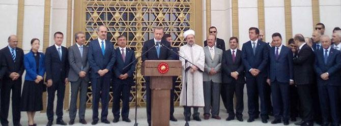 Cumhurbaşkanı Erdoğan Beştepe Millet Camisini açtı