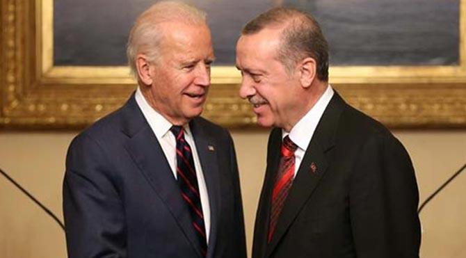 Erdoğan, Joe Biden ile görüştü