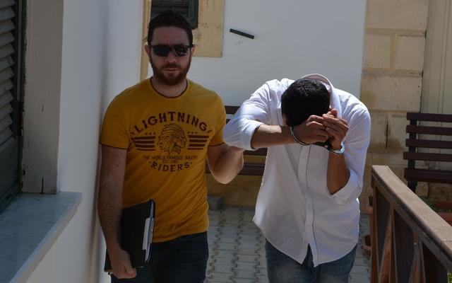 Ercan'da yine uyuşturucu