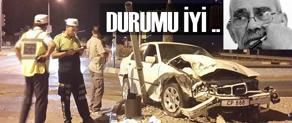 Trafik Kazası Geçiren Erten Kasımoğlu'nun sağlık durumu iyi