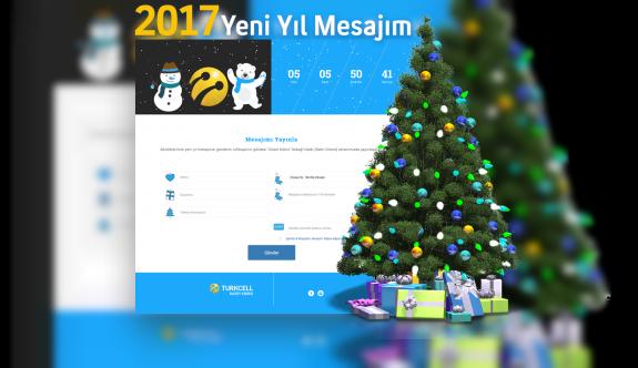 """Yeni yıl mesajları """"Güzel Kıbrıs Sokağı""""nda"""