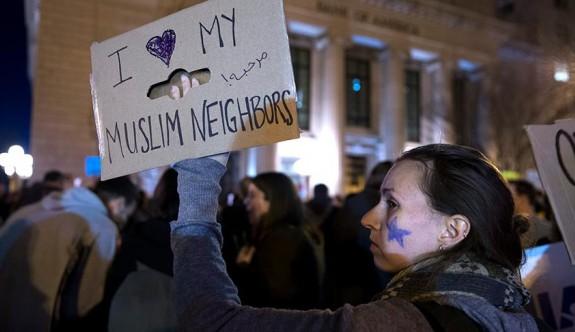 Amerikalılardan 'Hepimiz Müslümanız' mesajı