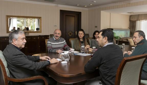 Cumhurbaşkanlığı'nda derğerlendirme toplantısı yapıldı