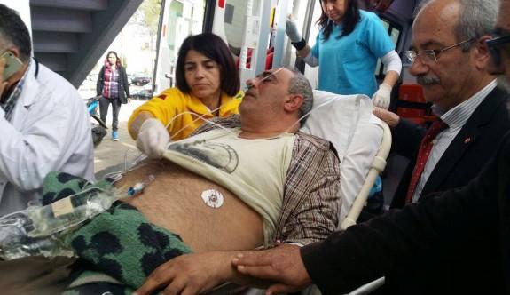 Emiroğluları kalp krizi şüphesiyle hastaneye kaldırıldı