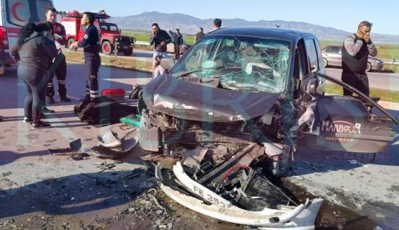 Feci kaza: Çok sayıda yaralı var!