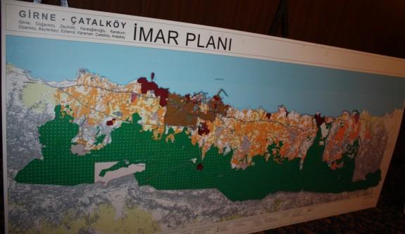 Girne-Çatalköy İmar Planı için hazırlıklar konuşuldu