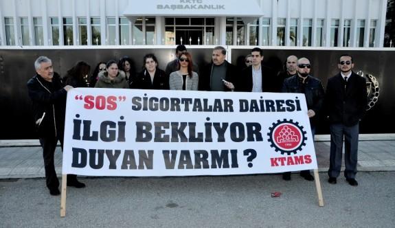 Girne Sosyal Sigortaların grevi devam ediyor!