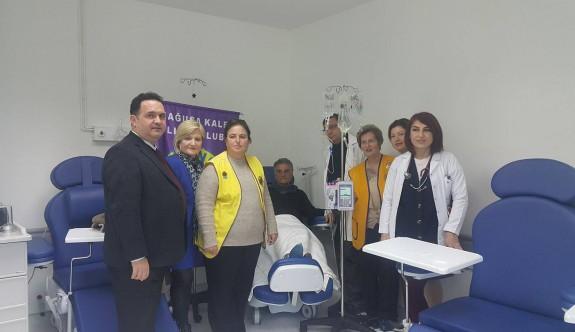 Hastanenin Onkoloji Servisi'ne infizyon cihazı bağışlandı