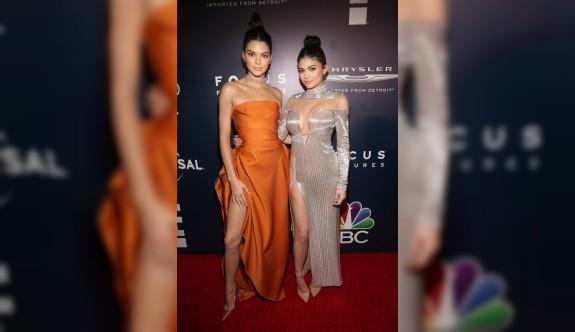 Kendall ve Kylie'ye şok