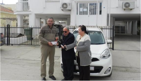 Kıbrıs Türk Görmezler Derneği'nin Araba Piyangosu talihlisi İskele'de
