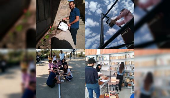 LAÜ öğrencilerinden sosyal sorumluluk projeleri