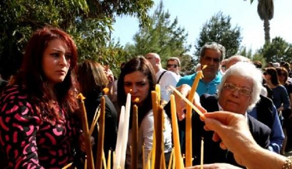 Rumlar Türkmenköy'de ayin yapacak