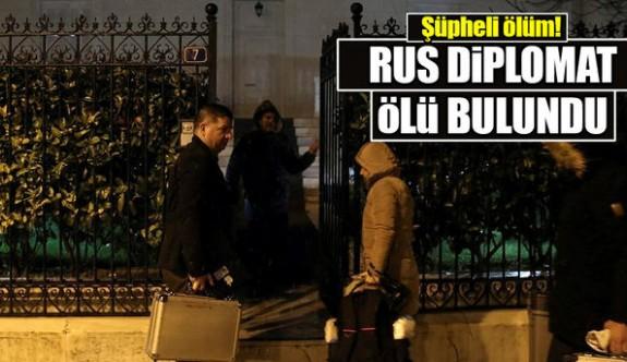 Son dakika: Rus diplomat ölü bulundu