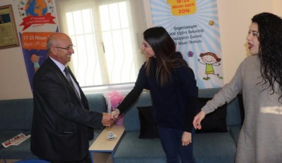 TDP Girne'deki okulları ziyaret etti!