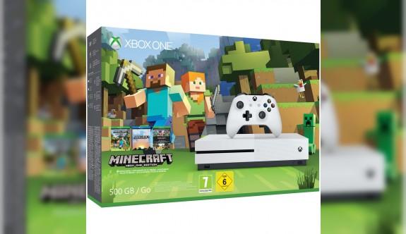 Xbox One S Minecraft versiyonu Türkiye'de satışa sunuldu