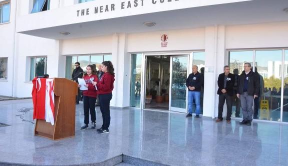 Yakın Doğu Kolejinde özgürlük mücadelesi Lideri Dr. Fazıl Küçük anıldı