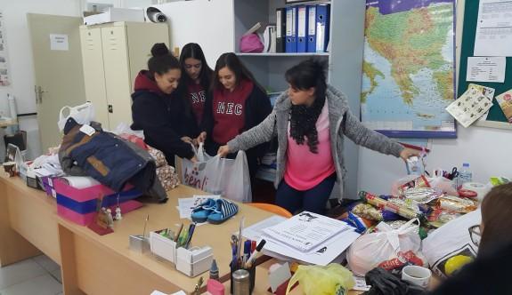 Yakın Doğu Koleji'nden Mülteci Hakları Derneğine ziyaret