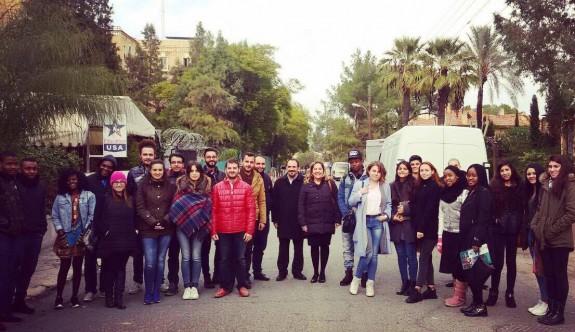 Yakın Doğu Üniversitesi öğrencileri ara bölgeyi ziyaret etti