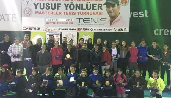 Yusuf Yönlüer Masterler Tenis Turnuvası tamamlandı
