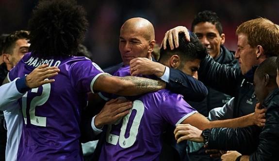 Zidane'li Real 281 gündür yenilmiyor