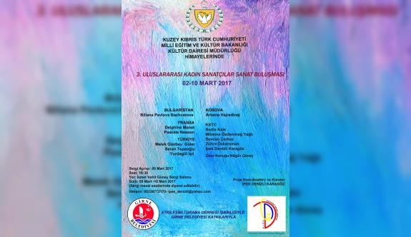 3. Uluslararası Kadın Sanatçılar buluşması gerçekleşiyor