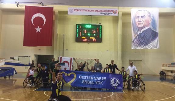 Adana deplasmanında galibiz 68-77