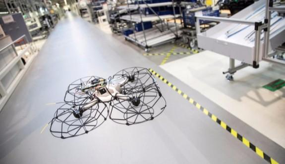 Audi Üretimde Drone Kullanmaya Başlıyor
