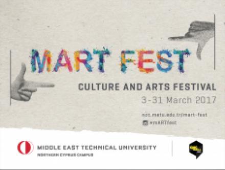 ODTÜ Kuzey Kıbrıs Kampüsü'nde Sanat Festivali Başlıyor