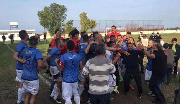 Ozanköy şampiyonluğa koşuyor   1-0