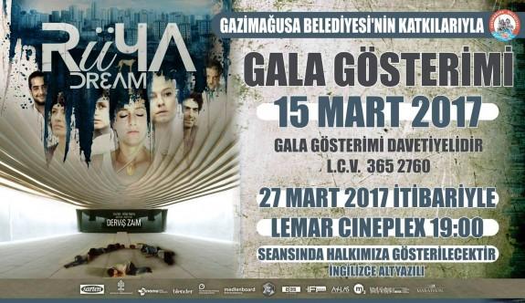 Derviş Zaim'in Rüya filmi galası Mağusa'da