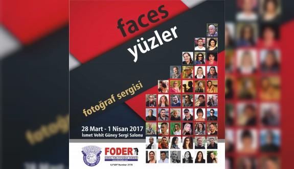 """""""Faces-Yüzler"""" isimli sergi, 28 Mart Salı günü açılacak"""
