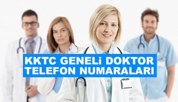 KKTC Geneli doktor ve telefon numaraları
