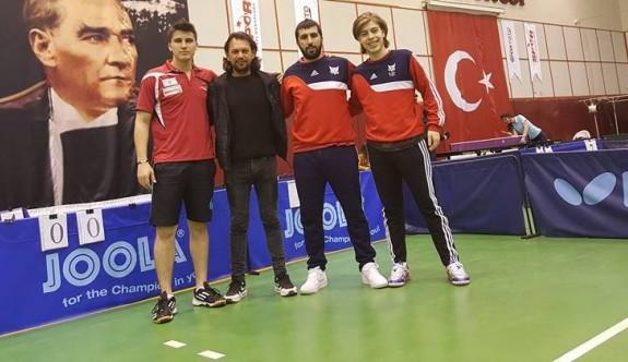 Masa tenisçilerin hedefi şampiyonluk