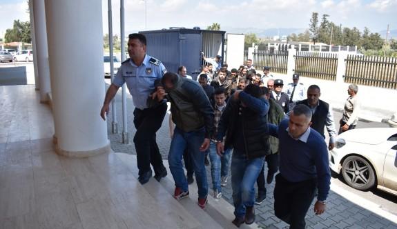 17 mülteci yakalandı