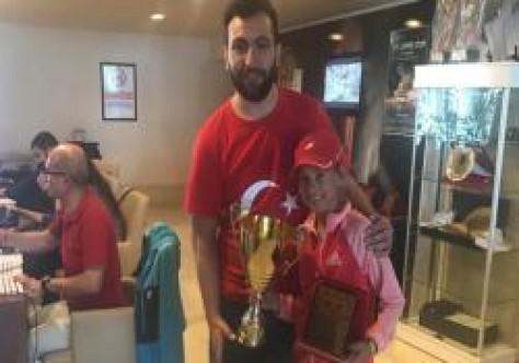 Akbaş, Avrupa turnuvasında ikinci turda