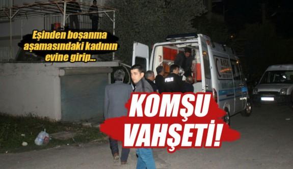 Antalya'da komşu vahşeti!