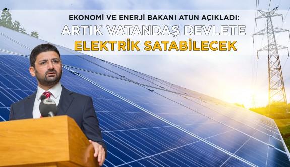 Artık vatandaş devlete elektrik satabilecek