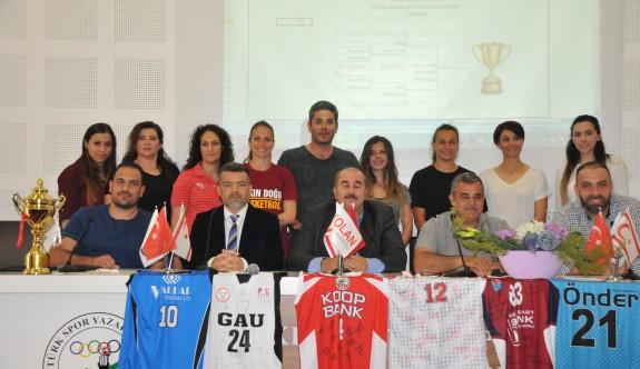 Basketbolda Kolan Federasyon Kupası kuraları çekildi